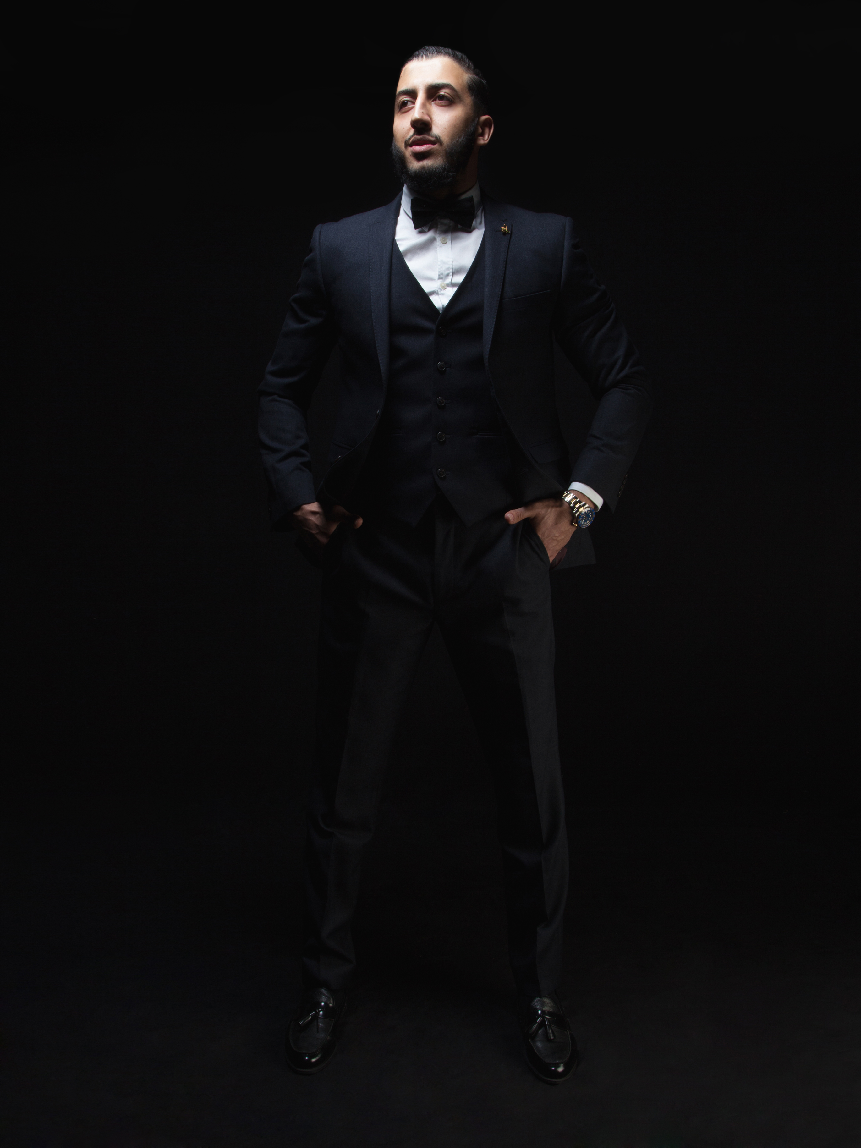 male photoshoot dueller by cameo London photography studio model portfolio